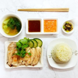 Ploy's Kitchen Singapore Hainanese Chicken and Rice