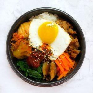 Korean Bibimbap Cooking Class